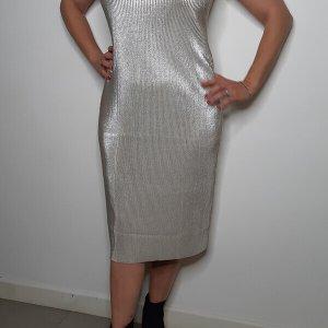 שמלת פליסה אפור לורקס