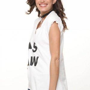 قميص أبيض من فرانز تيري sw