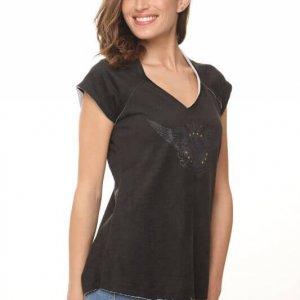 قميص فرانز تيري الأجنحة السوداء