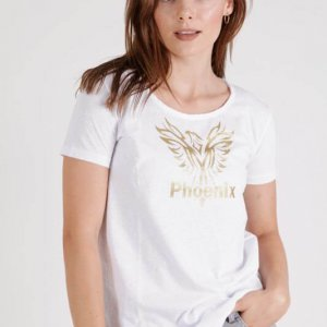 חולצה אביבית לבנה