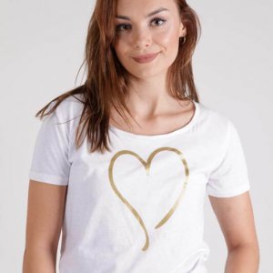 חולצה אלינה לבנה