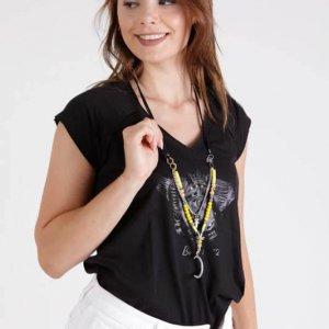 قميص يوداف أسود