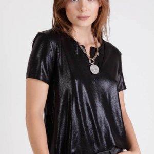 חולצה שירין שחור לורקס
