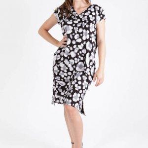 فستان آني الرمادي