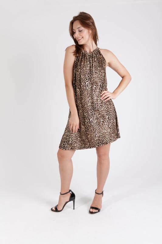 שמלה מגי מנומרת