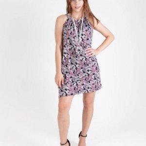 שמלה מגי פייזלי סגול
