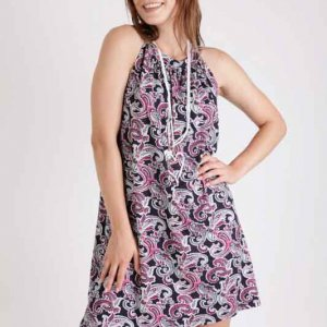فستان أرجواني من Maggie Paisley