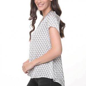 חולצה הילונת סטאן פפיונים