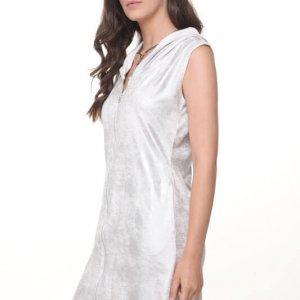שמלה אביבית כסף