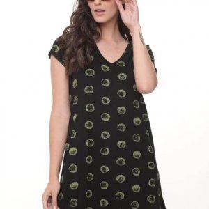 فستان الونا الدائرة الخضراء