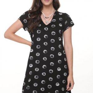 فستان الونا دائري ابيض