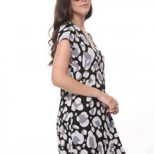 שמלה אלונה צבאי אפור