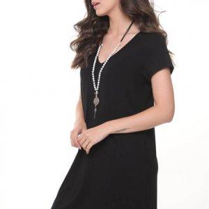 שמלה אלונה שחורה