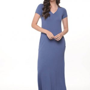 שמלה גילת מקסי ג'ינס