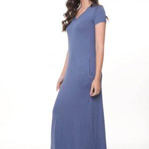 فستان جيلات ماكسي جينز