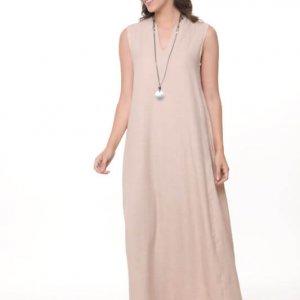 שמלה ונסה מקסי אבן