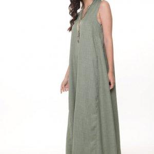فستان فانيسا ماكسي أخضر