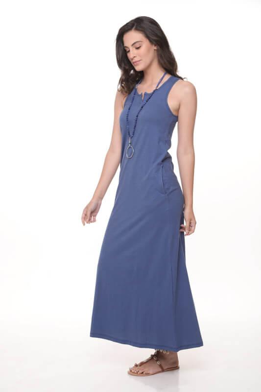 שמלה סילין גינס כותנה