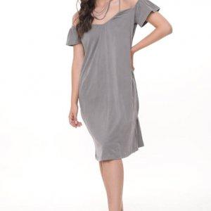 שמלה שקירה אפורה