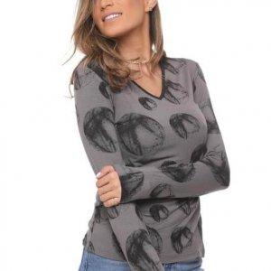 חולצה אורלין עיגול אפור