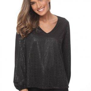 قميص لينوي أسود