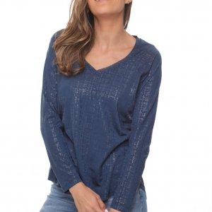 قميص الربيع الأزرق