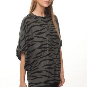 قميص أندريا زيبرا الأخضر