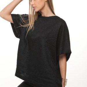 قميص أندريا أسود