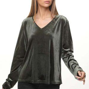 قميص مخمل أخضر من Nirit
