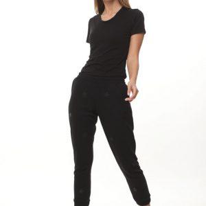 מכנס קופנהגן שחור כוכבים