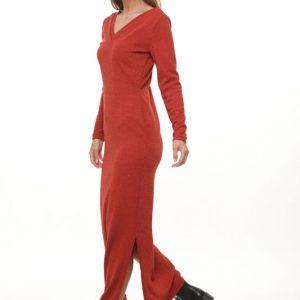 فستان ريهانا أحمر قديم