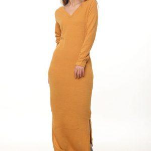 فستان ريهانا الخردل