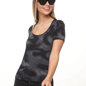 חולצה איימי שחור אפור