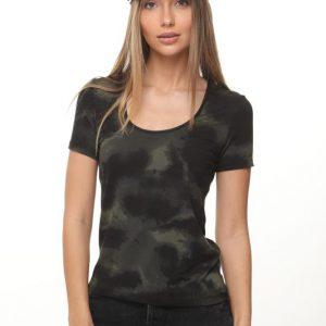 חולצה איימי שחור ירוק