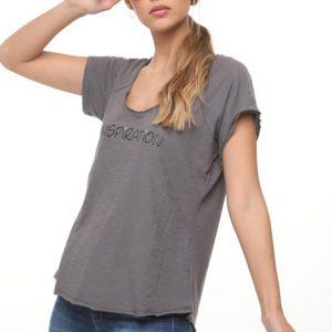 חולצה השראה אפורה