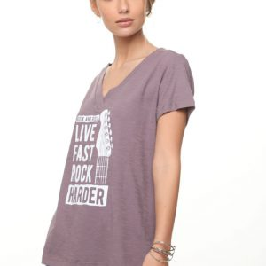 قميص ليما روك هاردر أرجواني