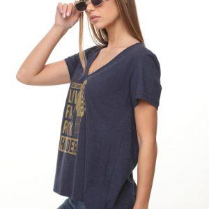 חולצה נופים כחולה רוק הארדר