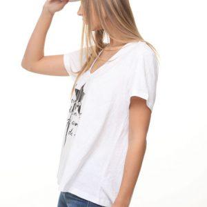 חולצה נופים לבנה כוכב