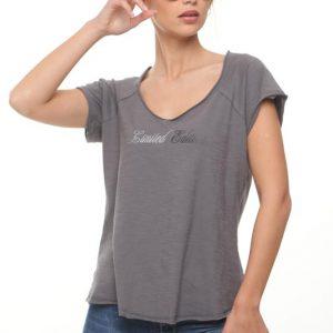 شارون قميص رمادي صيفي