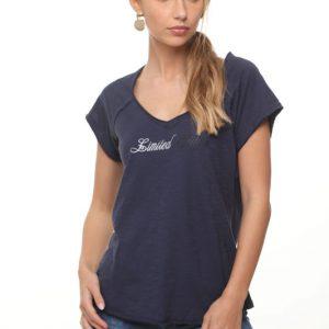 قميص شارون الأزرق الصيف