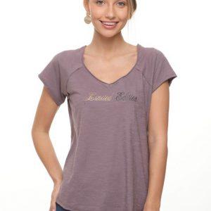 חולצה שרון סגולה קיץ