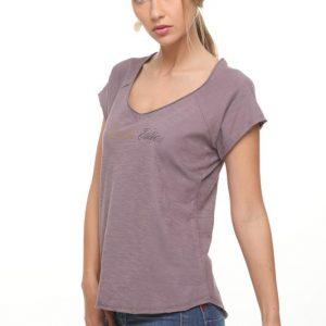 قميص شارون الأرجواني الصيف