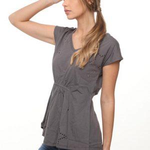 قميص ميغان رمادي