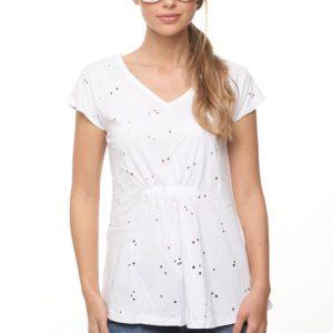 قميص ميغان الأبيض