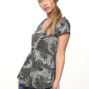قميص ميغان العسكري