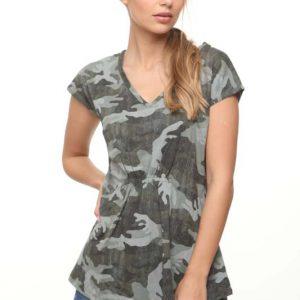 חולצה מייגן צבאית
