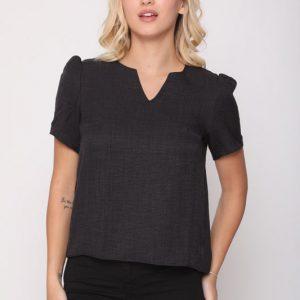 חולצה אליאנה שחורה