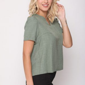 قميص أخضر إليانا