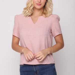 قميص وردي إليانا