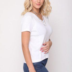 חולצה קדית לבנה